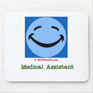 Happy Face Medical Assistant Mouse Pad