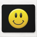 "Happy Face Mouse Pad<br><div class=""desc"">Happy Face</div>"