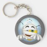 Happy Face Mummy Keychain