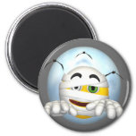 Happy Face Mummy Magnet
