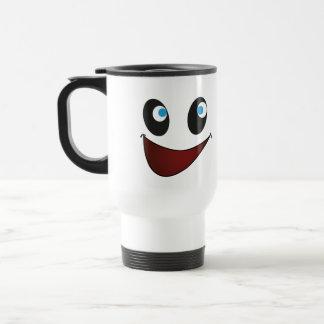 Happy Face Nutty Travel Mug