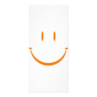Happy Face: Orange Rack Card