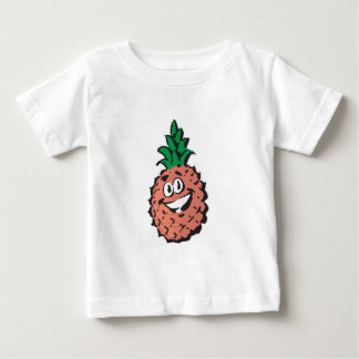 happy face pineapple t shirt