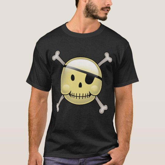 Happy Face Pirate T-Shirt