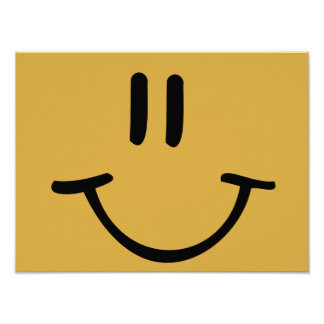 Happy Face Poster