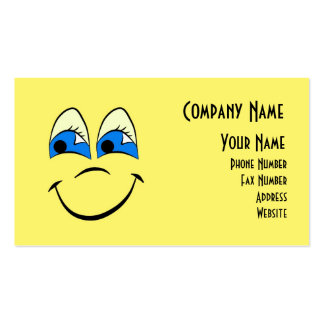 Happy Face Range Business Cards