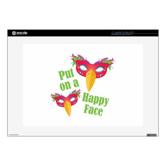 Happy Face Skin For Laptop
