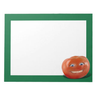 Happy Face Smiling Tomato Scratch Pads