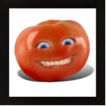 Happy Face Smiling Tomato Photo Cut Out