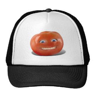Happy Face Smiling Tomato Trucker Hat
