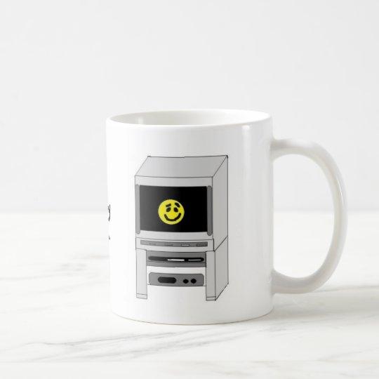 Happy Face Television Coffee Mug