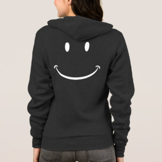 Happy Face Zip Hoodie
