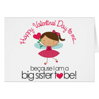 Happy Fairy Big Sister To Be T-shirt Greeting Cards