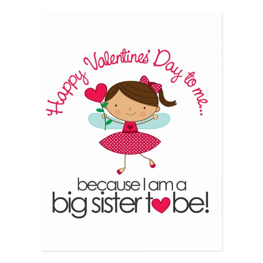 Happy Fairy Big Sister To Be T-shirt Postcard
