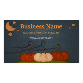 Happy Fall Business Card Template