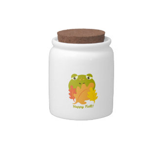 Happy Fall Candy Jars