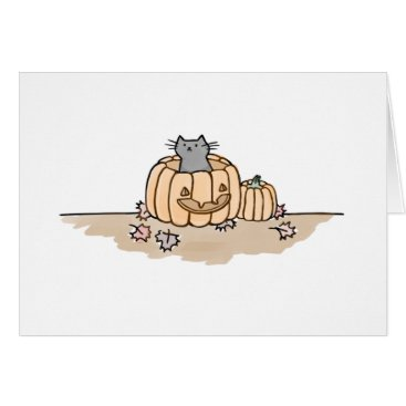 Halloween Themed Happy Fall Card