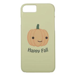 Happy Fall - Cute Pumpkin iPhone 7 Case
