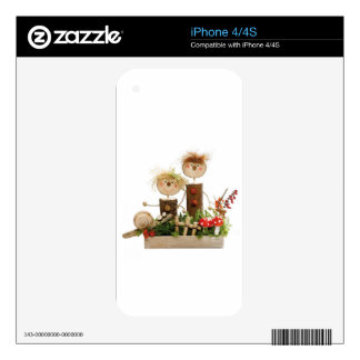 Happy Fall Family Skin For iPhone 4