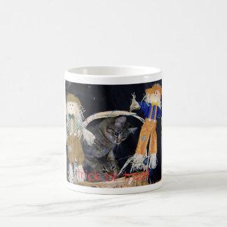happy-fall-girls, trick or treat coffee mugs