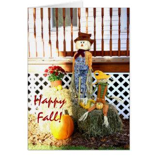 Happy Fall! Greeting Card