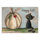 Happy Fall - Greeting Card