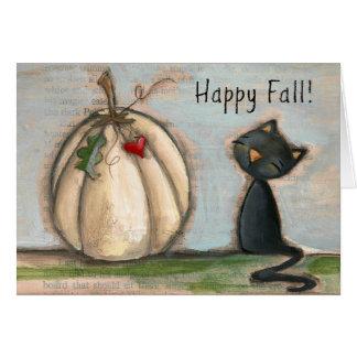 Happy Fall - Greeting Card