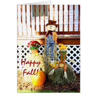 Happy Fall! Greeting Cards