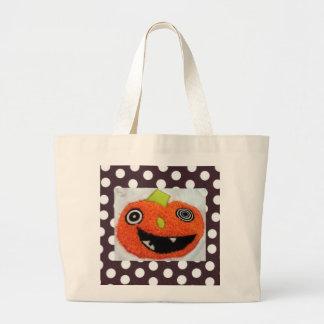 Happy Fall - Jack O Latern Bag