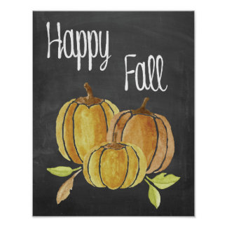 Happy Fall Poster