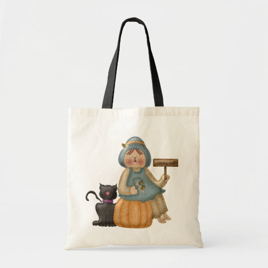 Happy Fall Scarecrow Tote Bag