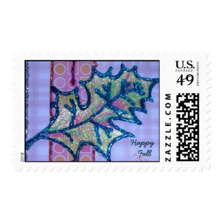 Happy  Fall Stamp