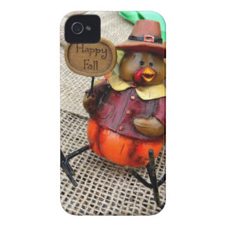 Happy Fall Turkey iPhone 4 Cases