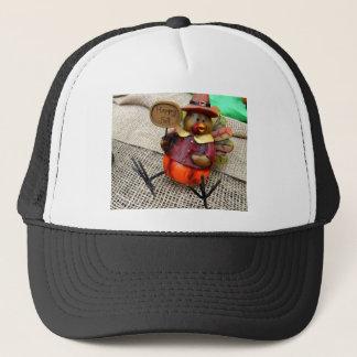 Happy Fall Turkey Trucker Hat