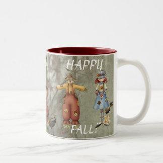 Happy Fall Two-Tone Coffee Mug