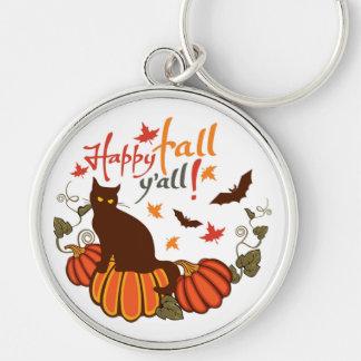 Happy fall y'all! keychain