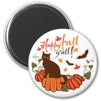 Happy fall y'all! magnet