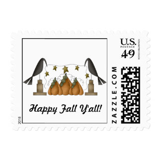 Happy Fall Y'all! Stamp