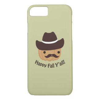 Happy Fall Y'all! Pumpkin iPhone 7 Case