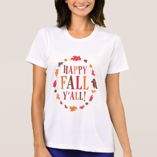 Happy Fall Y'all T Shirt
