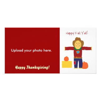 Happy Fall Y'all: Thanksgiving photo cards