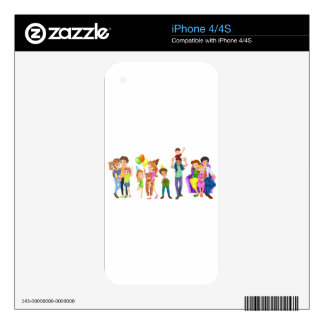 Happy families skin for the iPhone 4S