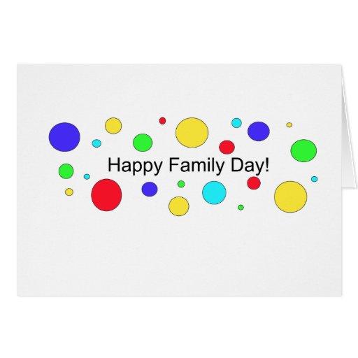 Happy Family Day Card Zazzle