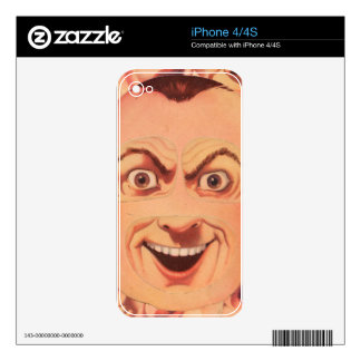 Happy Family: Father Decals For iPhone 4