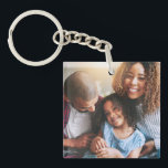 "Happy Family of Three Keychain<br><div class=""desc"">Leave your house but take your loved ones with you, thanks to this customizable keychain. There's nothing in the world that's as important as family, and you'll never forget that fact with this heart-warming photo keychain. It's easy to adapt and edit with your own images, and the acrylic material is...</div>"
