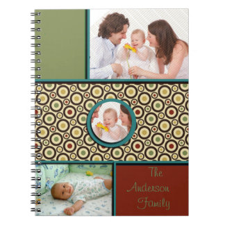 Happy Family Spiral Note Books