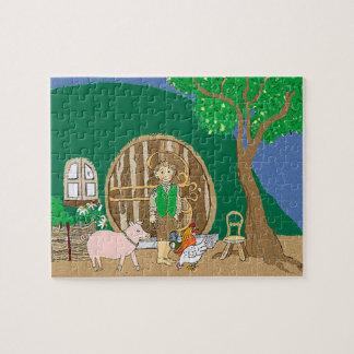Happy Fantasy home Puzzle