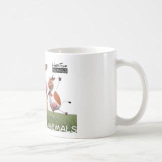 Happy Farm Animal Coffee mosquito - Isaak Classic White Coffee Mug