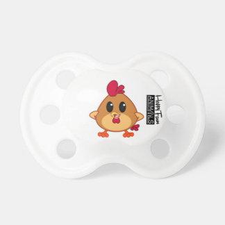 Happy Farm Animal weans Chicken - Chadin Pacifier