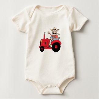 Happy Farmer Baby Bodysuit